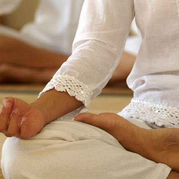 Meditationsposition