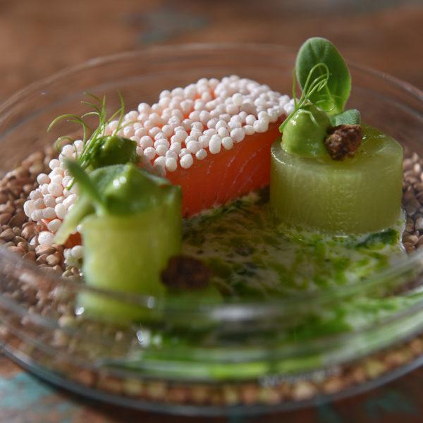 Quinoa Lachs