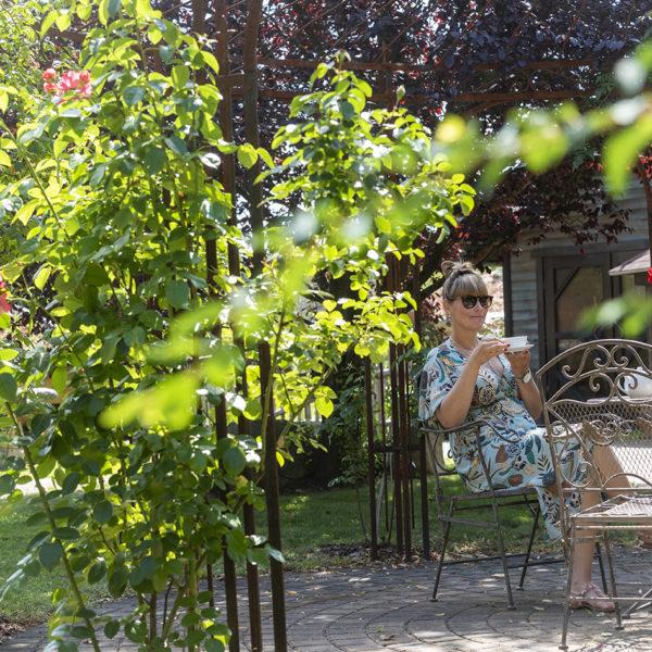 Frühstück im Schlossgarten