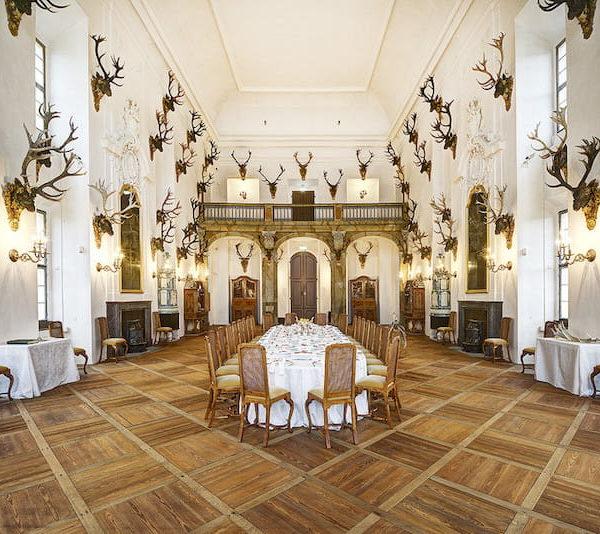 Schloss Moritzburg Festsaal Fotograf Carlo Boettger schloesserland-sachsen.de